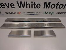 11-16 Dodge Charger New Door Sill Guards Stainless Steel Front Mopar Factory Oem