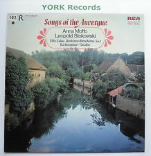 LSB 4114 - SONGS OF THE AUVERGNE - MOFFO / STOKOWSKI - Excellent Con LP Record