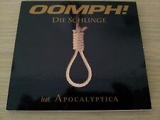 OOMPH!  DIE SCHLINGE SINGLE CD  DIGIPACK 4 SONGS 1 VIDEO