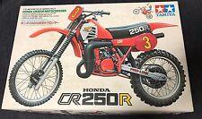 HONDA CR250R motocrosser TAMIYA 1/12 vintage model kit