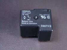 G8P-1A4P-DC12 Omron Relay SPST NO 30A @ 250VAC 12VDC Coil Fully Sealed NOS