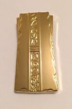 Star Trek DS9 Strip of Gold-Pressed Latinum Reproduction Metal Bar