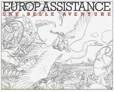 RARE EO MOEBIUS : EUROP ASSISTANCE, UNE BELLE AVENTURE ( ALBUM PUBLICITAIRE )