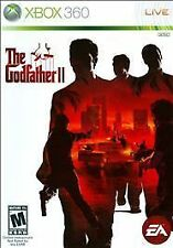 The Godfather II 2 W/CASE Microsoft Xbox 360 GAME
