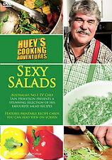 HUEY'S COOKING ADVENTURES SEXY SALADS NEW/SEALED DVD (IAIN HEWITSON, TV CHEF)