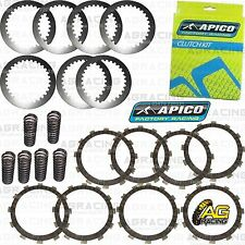 Apico Clutch Kit Steel Friction Plates & Springs For Yamaha YZ 250 2010 MotoX
