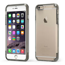 "PureGear Apple iPhone 6S PLUS (5.5"") Slim Shell Pro Case Slim Cover CLEAR / Gray"