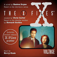 THE X FILES VOLTAGE AUDIO CD EASTON ROYCE NOVEL (READ BY KERRY SHALE) NEW/SEALED