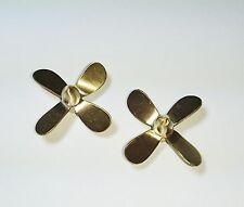 1/72 Revell USS Gato Submarine Use ( 4-Blade Copper Propeller 1pair )