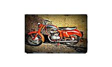 1960 panther 3t Bike Motorcycle A4 Retro Metal Sign Aluminium