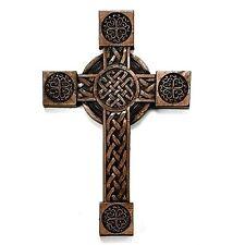 """Irish Celtic 8"""" Inch Wall Cross Christian Faith"""