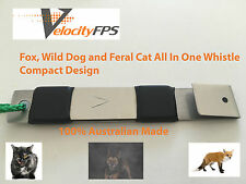 Fox Whistle Wild Dog Whistle Feral Cat Call All In One Mini Wicked Triple