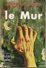 Jean Paul SARTRE * Le Mur * Poche * Texte intégral * littérature 20 ème siècle