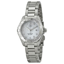 Tag Heuer Aquaracer Mother of Pearl Diamond Dial Ladies Watch WAY1413.BA0920