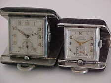 2 Lathin Vintage Travel Watches Or Purse Watches In Very Nice Condition Working