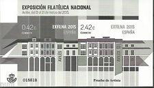 Spain Prueba EXFILNA Novedad 2015  imperfored