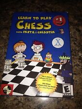 Learn To Play Chess With Fritz @ Chester- Pc Game- Mac OS X- Mint L@@K