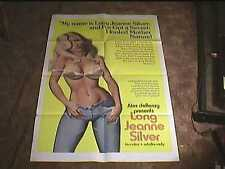 LONG JEANNE SILVER ORIG MOVIE POSTER VINTAGE SEXPLOITATION HOT SEXY CLASSIC