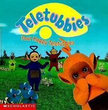 Four Happy Teletubbies by Scholastic Books