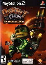 Ratchet And Clank Up Your Arsenal PS2 Game
