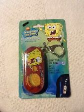 KEY CHAIN TIN SLIDING LID SPONGE BOB TIN BOX COMPANY NICKELODEON