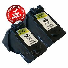 2PK PG-210XL PG210XL Black Ink Cartridges for Canon MP495 MX320 MX340 Printer