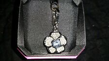 Juicy Couture PAVE FLOWER charm