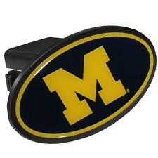 """Michigan Wolverines Hitch Cover Class III 2"""" Receiver"""
