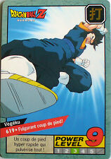 CARTE DRAGON BALL LE GRAND COMBAT N-¦ 619 VEGEKU POWER LEVEL 9