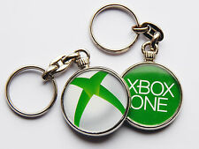 XBOX ONE New Console Icon Quality Chrome Keyring Picture Different on Each Side!