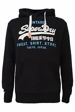 Superdry Sweat Shirt Store Hood Men's Hoodie Dark Charcoal  Medium