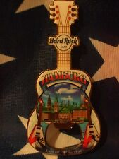 HRC Hard Rock Cafe Hamburg Bottle Opener Magnet City Tee V16