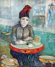 In the cafe Agostina Segatori by Vincent van Gogh A1+ High Quality Art Print