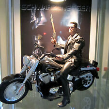 HARLEY FAT BOY MOTORCYCLE 1:6 SCALE TERMINATOR HOT TOYS SIDESHOW