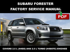 SUBARU 2003 2004 2005 2006 2007 2008 FORESTER ULTIMATE SERVICE REPAIR FSM MANUAL