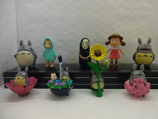 MY NEIGHBOUR TOTORO CAKE TOPPERS 9 PLASTIC FIGURES