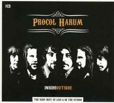 Very Best Of-Inside Outside-von Procol Harum (2014) 2CD Set,Live & In The Studio