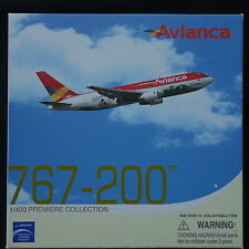 "Dragon Wings 1/400 Avianca Airlines B767-200 ""JUAN VALDEZ CAFÉ DE COLOMBIA Model"