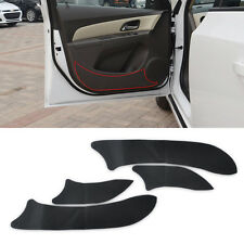 Carbon Door Decal Sticker Cover Kick Protector for CHEVROLET CRUZE 2008 09- 2015