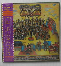 PROCOL HARUM - Live In Concert The Edmonton Symphony Orchestra JAPAN MINI LP CD
