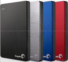 Seagate Backup Plus Slim 1TB My USB 3.0, 2.0 External Portable Hard Drive HDD
