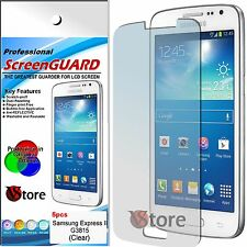 5 Pellicola Per Samsung Galaxy Express 2 II G3815 Proteggi Salva Schermo Display