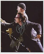 U2 Bono & The Edge  SIGNED Photo 1st Generation PRINT Ltd 150 + Certificate /3
