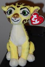 "Ty Beanie Baby ~ Disney The Lion Guard FULI 6"" Plush Toy ~ 2016 NEW with Tags"