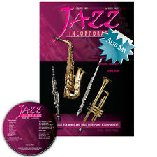 Jazz Incorporated Vol 2 for Alto Saxophone Book and CD Sheet Music Kerin Bailey