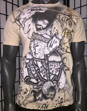 AFFLICTION HORIYOSHI LARGE HEROES & DEMONS,IREZUMI,TATTOO SHIRT,MMA