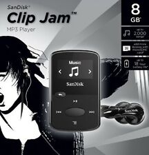 Sandisk Clip Jam MP3 Player (Black, 8GB) [Sandisk Sansa Clip Series]