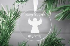 Christmas Ornament, In loving memory Christmas bauble Glass ornament Decoration.