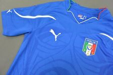 2010 Puma Italy Home Shirt Italia World Cup  SIZE S (adults)