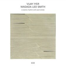 WADADA LEO SMITH,VIJAY IYER - A COSMIC RHYTHM WITH EACH STROKE  CD NEU